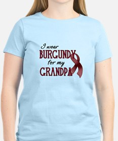 Wear Burgundy - Grandpa T-Shirt
