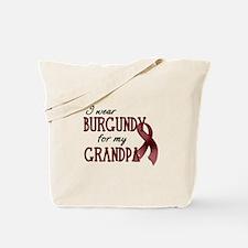 Wear Burgundy - Grandpa Tote Bag