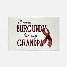 Wear Burgundy - Grandpa Rectangle Magnet