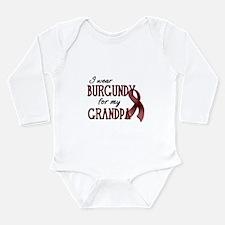 Wear Burgundy - Grandpa Long Sleeve Infant Bodysui