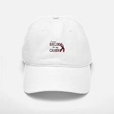 Wear Burgundy - Grandpa Baseball Baseball Cap