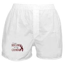 Wear Burgundy - Grandpa Boxer Shorts