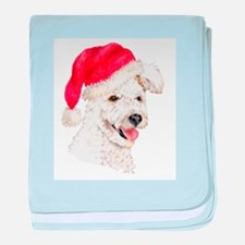 Christmas Pumi Infant Blanket