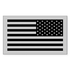 Subdued US Flag Tactical Stickers