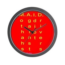 MAID..... Wall Clock