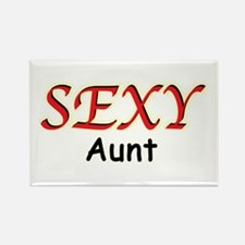 Sexy Aunt Rectangle Magnet