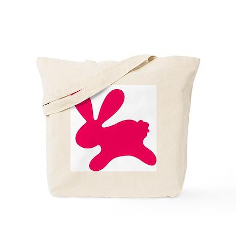 Rabbit P Tote Bag