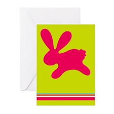 Rabbit P Greeting Cards (Pk of 10)