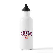 CL Chile Futbol Soccer Water Bottle