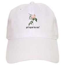 Fragrant Tea Rose Baseball Cap