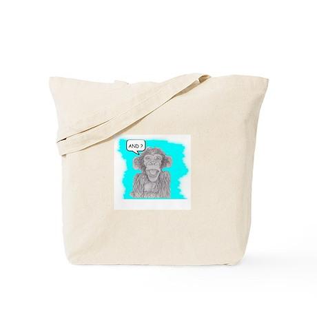 AND? MONKEY Tote Bag