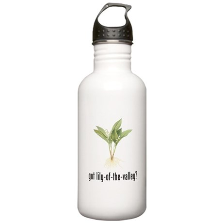 Lily of the Valley Stainless Water Bottle 1.0L