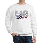 US Navy Dad Sweatshirt