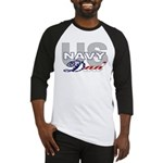 US Navy Dad Baseball Jersey