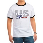US Navy Dad Ringer T