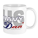 US Navy Dad Mug