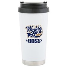 Worlds Best Boss Travel Mug
