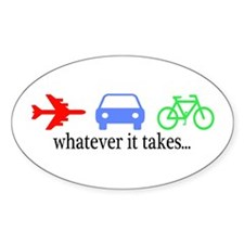 Freestyle ''Whatever it takes...''Oval Decal