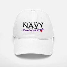 US Navy Daughter Baseball Baseball Cap