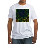 Japan Fractal Fitted T-Shirt