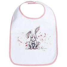 Undead Bunny Bib