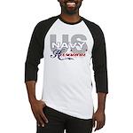 US Navy Husband Baseball Jersey