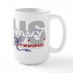 US Navy Husband Large Mug