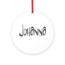 Johanna Ornament (Round)