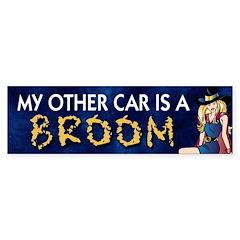 My Other Car is a Broom Bumper Bumper Sticker