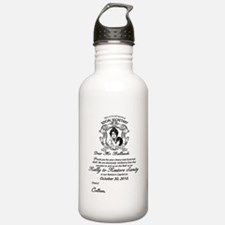 Cute Rally manners Water Bottle