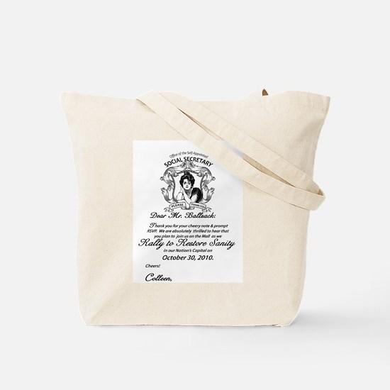 TEAM CIVILITY Tote Bag