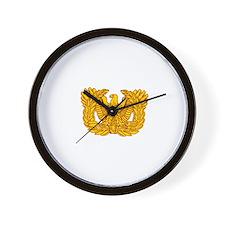 Warrant Officer Symbol Wall Clock