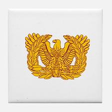 Warrant Officer Symbol Tile Coaster