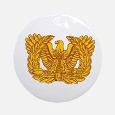 Warrant Officer Symbol Ornament (Round)