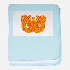 Warrant Officer Symbol Infant Blanket