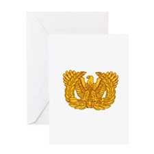 Warrant Officer Symbol Greeting Card