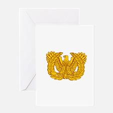 Warrant Officer Symbol Greeting Card