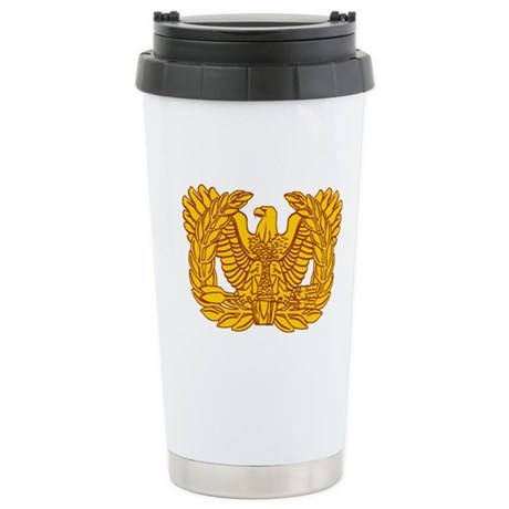 Warrant Officer Symbol Stainless Steel Travel Mug