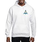 Masonic Faith, Hope, Charity Hooded Sweatshirt