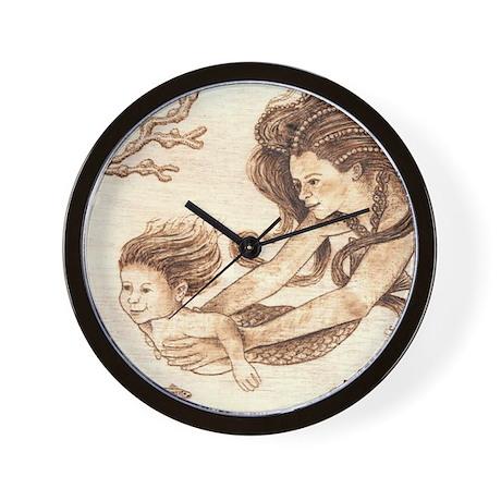 Mer-baby Wall Clock
