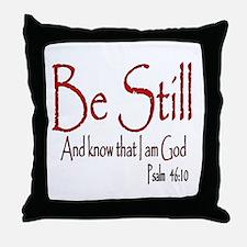 Be Still (2) Throw Pillow