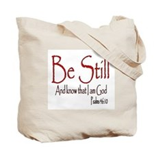 Be Still (2) Tote Bag