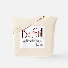 Be Still (2) Tote Bag