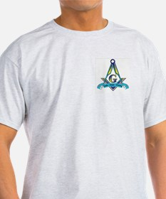 Masonic Faith, Hope, Charity Ash Grey T-Shirt