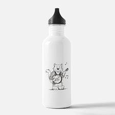 CatoonsT Banjo Cat Water Bottle