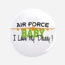 """Air Force Baby 3.5"""" Button"""