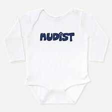 Nudist Long Sleeve Infant Bodysuit