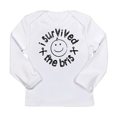 I Survived The Bris Long Sleeve Infant T-Shirt