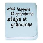 What Happens At Grandma's Infant Blanket