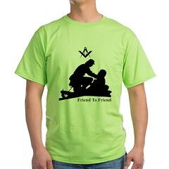 Masonic Friend to Friend T-Shirt